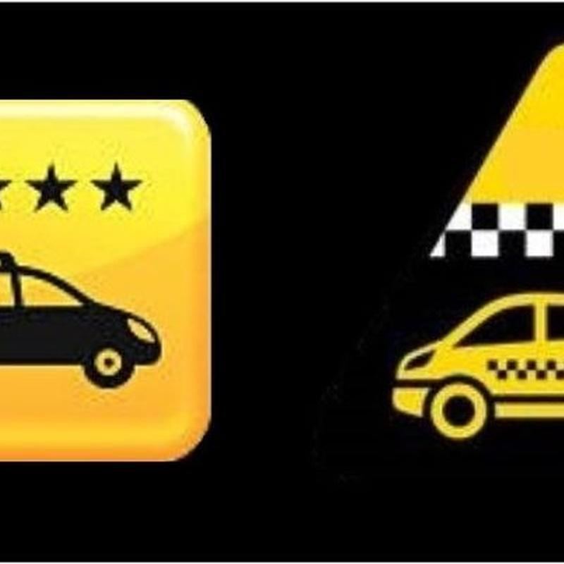 Táxi 6 a 8 passageiros: SERVIÇOS de Central Taxis Limiana