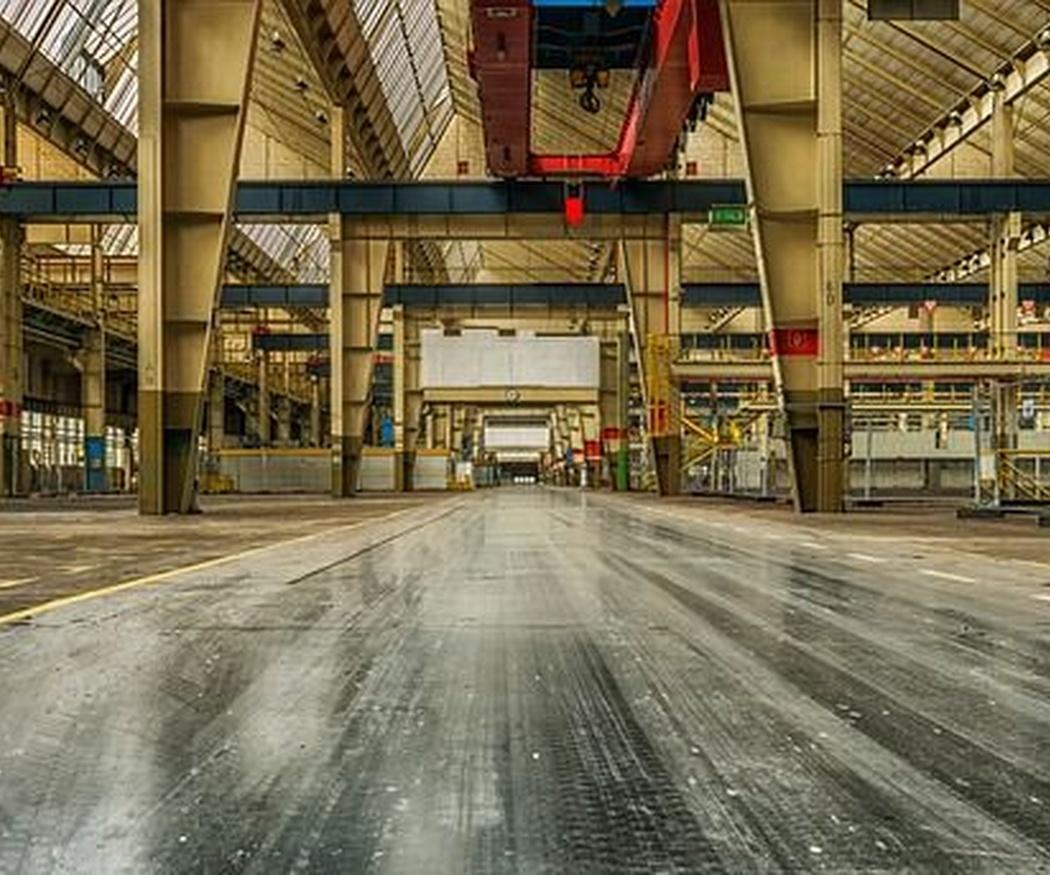 Las características de los pavimentos industriales