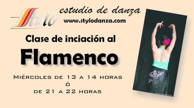 Clases de iniciación al Flamenco