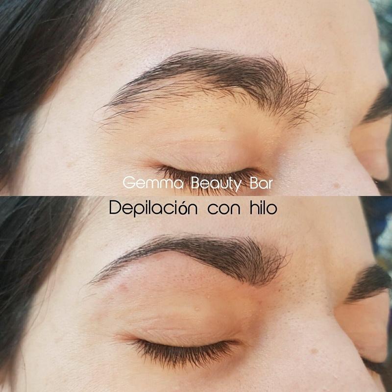 Depilación de cejas con hilo: Servicios de Gemma Beauty Bar