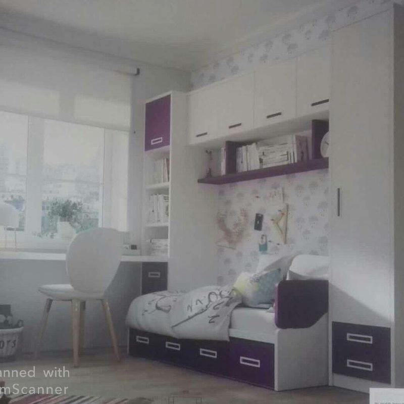 Dormitorios juveniles con módulos puente: Catálogo de muebles de Muebles Los Ángeles