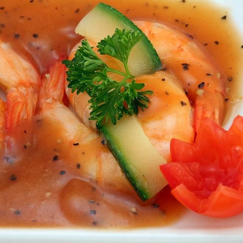 Mariscos y pescados: Carta y Menús de Restaurante Tsuruma