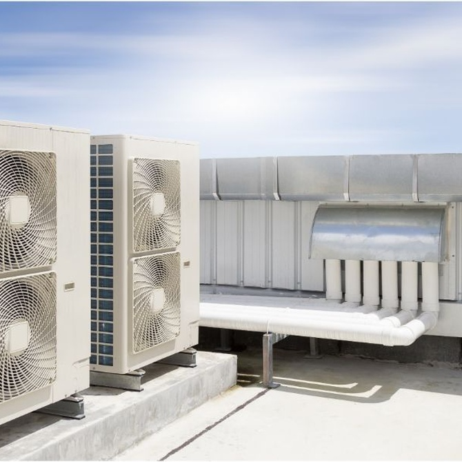 Tipos de climatización para industrias