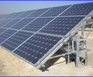 Estructuras para plantas solares