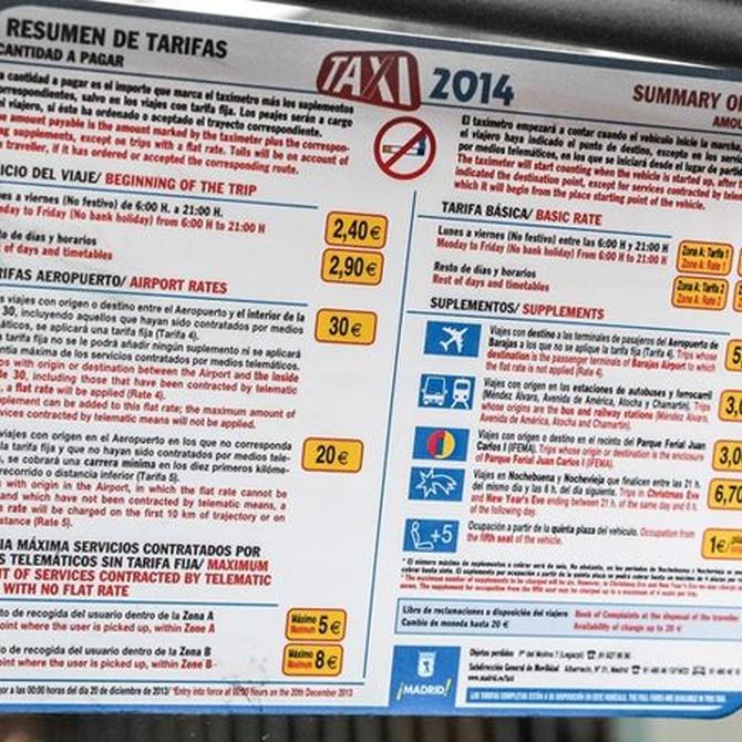 Guía para entender las tarifas al aeropuerto