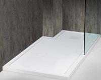 Platos ducha Ducho-Quartz con reborde
