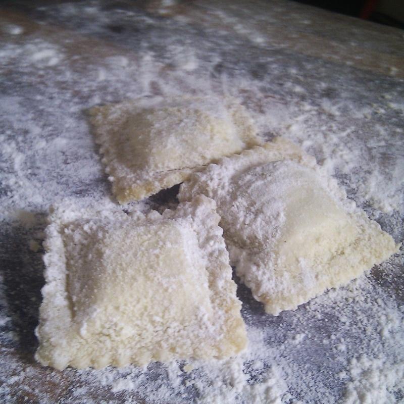 Panzerotti de ricotta, nueces y parmiggiano: Nuestros productos de La Pastaia