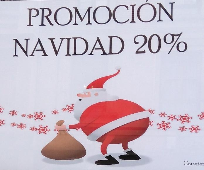 Promoción Navidad en lencería y corsetería Bayón