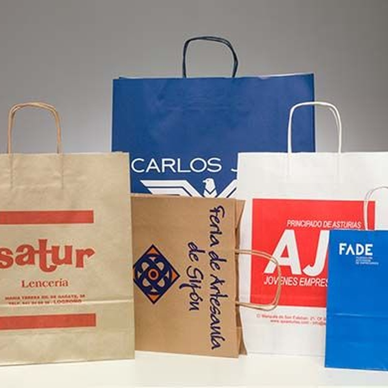 Bolsas de papel: PRODUCTOS de Honesa