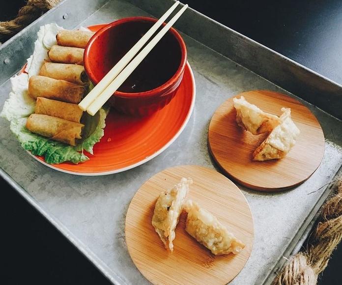 Restaurante: Cocina de Restaurante Wok Parrilla
