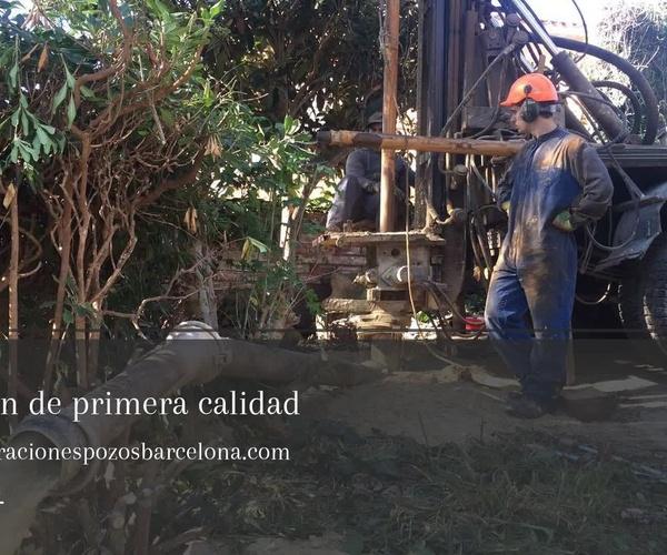 Construcción de pozos de agua en Tarragona