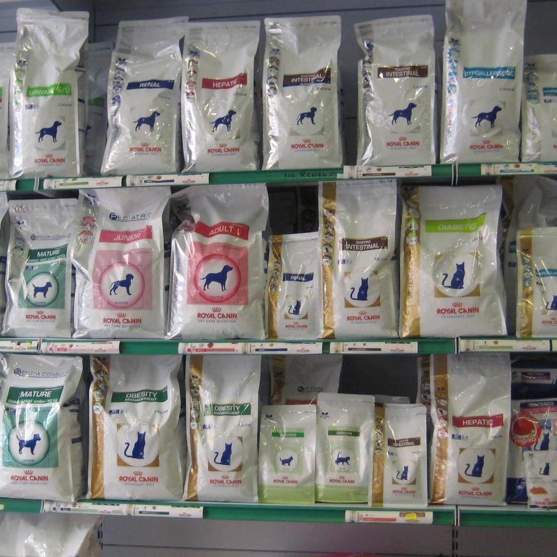 Alimentación: Servicios de Clínica Veterinaria Dr. Nieto