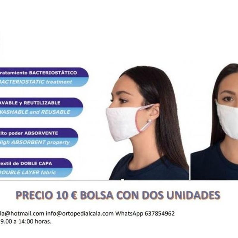 MASCARILLAS : ¿Qué podemos ofrecerte? de Gabinete de Ortopedia Alcalá, S.L.