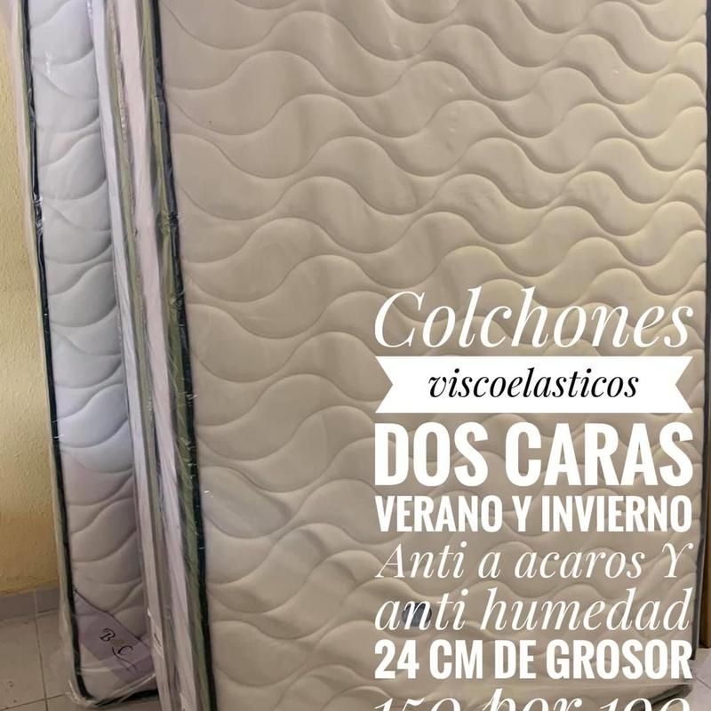 Colchones viscoelasticos 150 x 190 cm: Servicios y productos de Remar Castellón