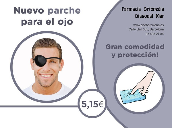 parche ojo barcelona