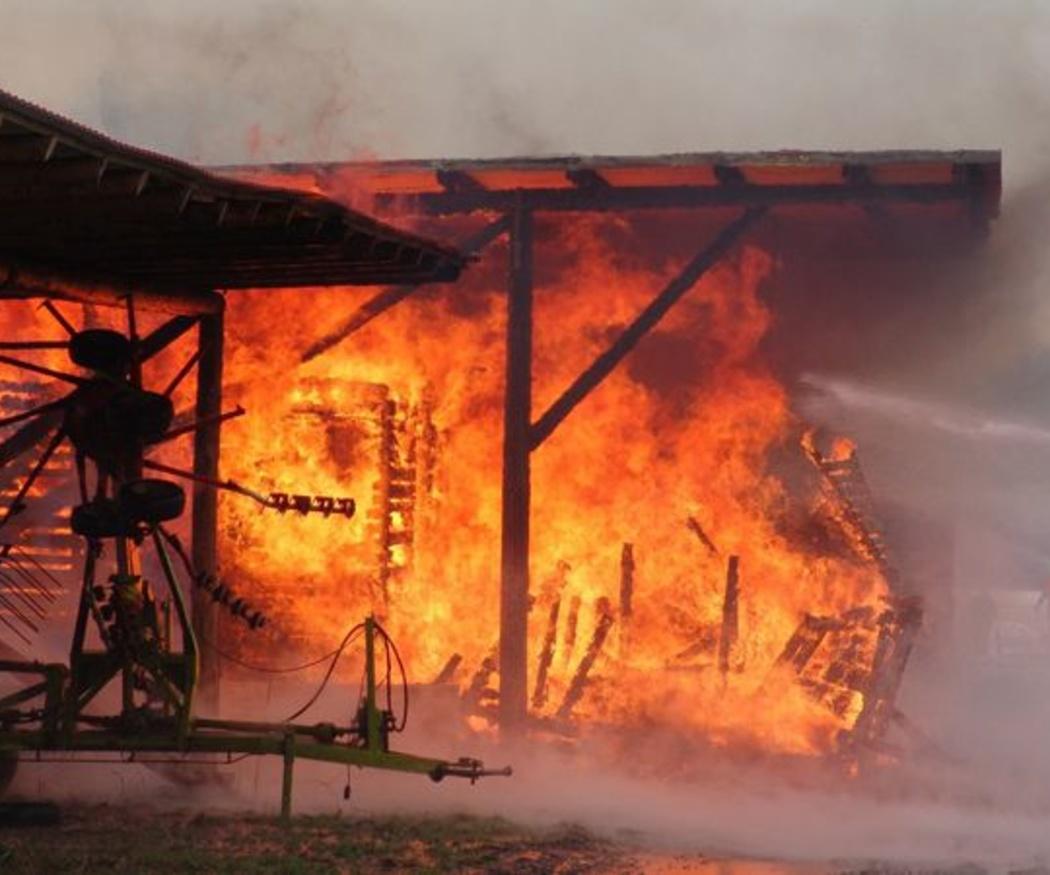 ¿Cómo afecta el fuego a las estructuras?