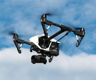 Los drones son cada vez más utilizados en la industria de gestión de residuos