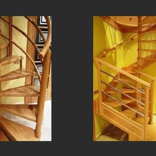 Escaleras de madera personalizadas