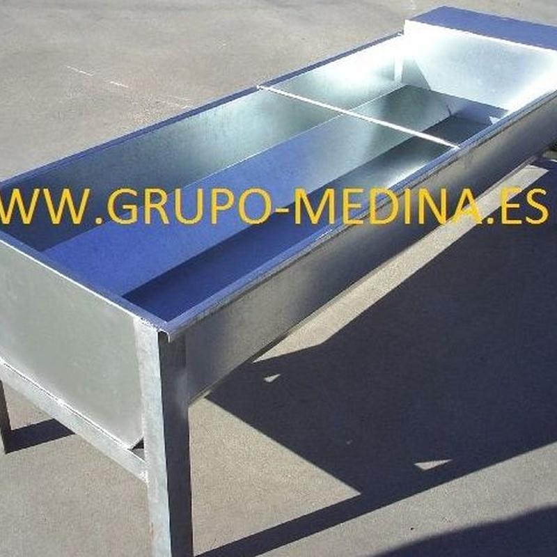 BEBEDERO VACUNO: NUESTROS PRODUCTOS de Grupo Medina