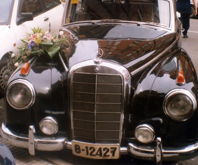 Decoración de coche.: CATÁLOGO de Floristería Iglesias