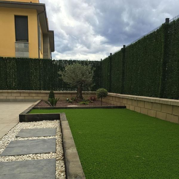 Servicios de jardinería e instalación de riego automático en Bizkaia