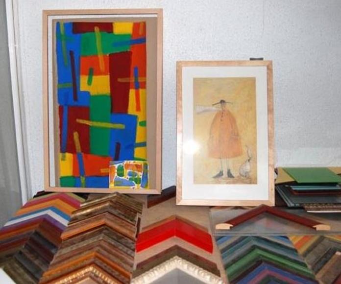 Enmarcaciones: Catálogo de Cristalería San Francisco