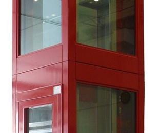 Estructura de cierre para elevador