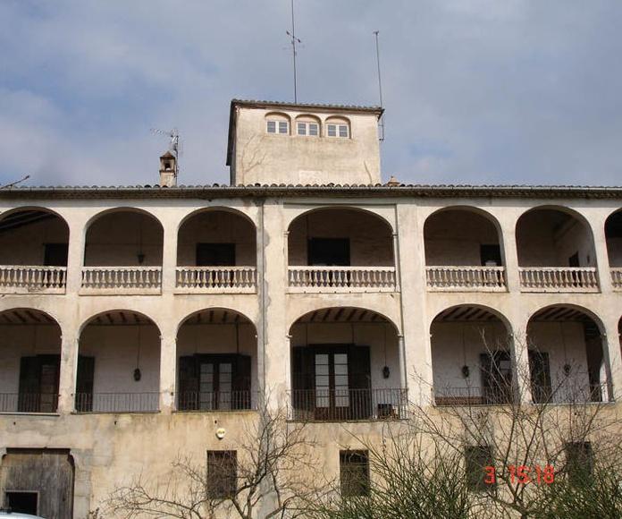 """Masia """"Ventós"""". Olot (Girona)"""