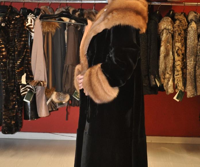 Abrigo de visón despinzado: Peletería de Peletero José Luis López