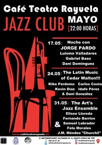 Programación mes de mayo Café Teatro Rayuela