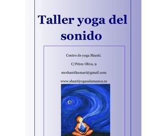 Yoga para adolescentes: Actividades de Shanti Centro De Yoga