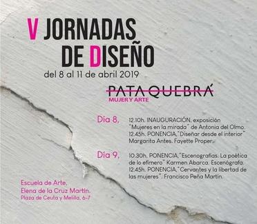 """V JORNADAS ARTE Y DISEÑO """"MUJER Y ARTE"""""""