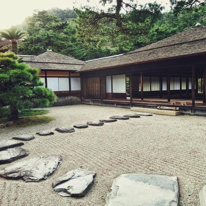 ¿Y por qué no un jardín zen?