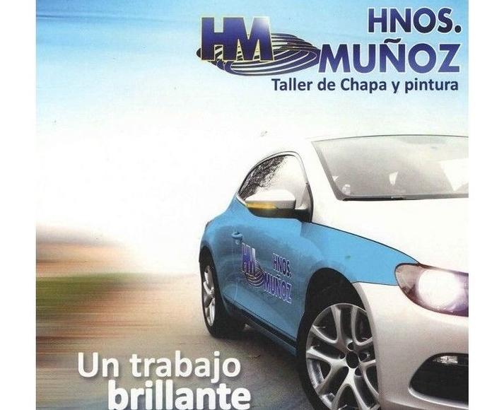 Vehículo de cortesía gratuito: Servicios de Taller Hermanos Muñoz