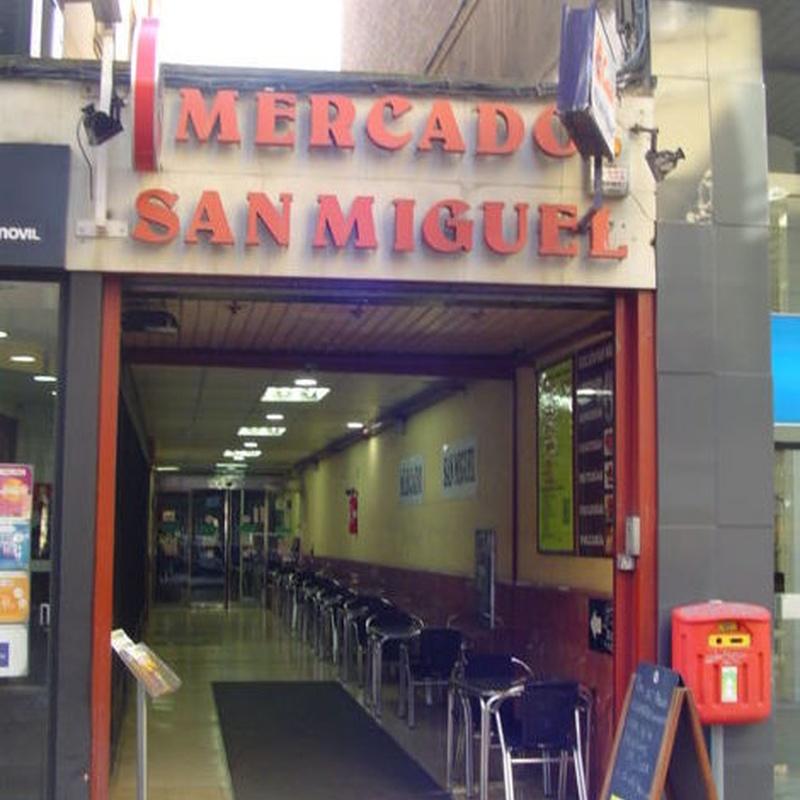 Puestos de Mercado en Mercado San Miguel, calle San Miguel 14