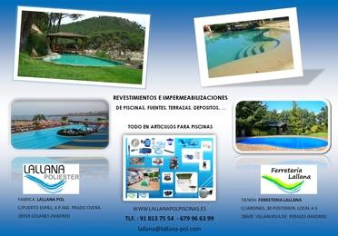 Revestimientos y rehabilitaciones de piscinas, terrazas, azoteas, depositos