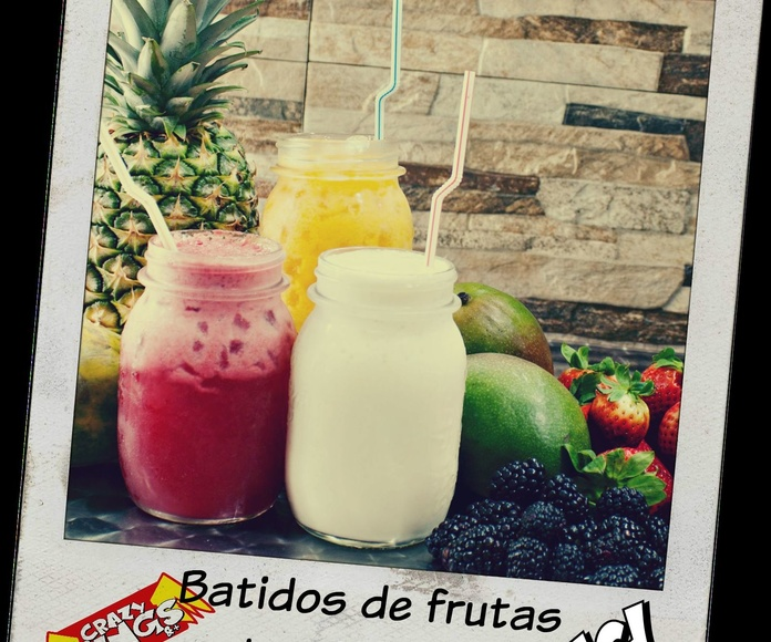 Batidos Tropicales Naturales: Productos de Crazy Wings BCN