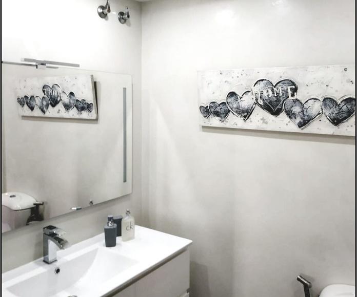 Baño Microcemento - Pintura decorativa Zen