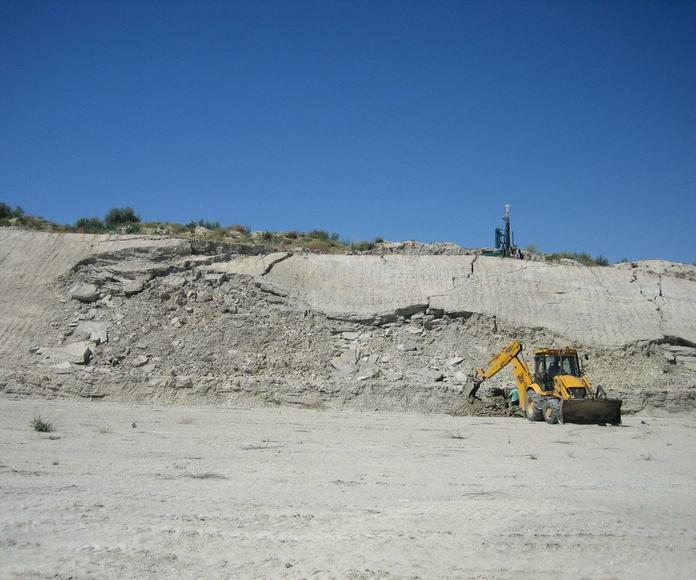 Deslizamiento en talud durante la construcción de la segunda circunvalación de Granada
