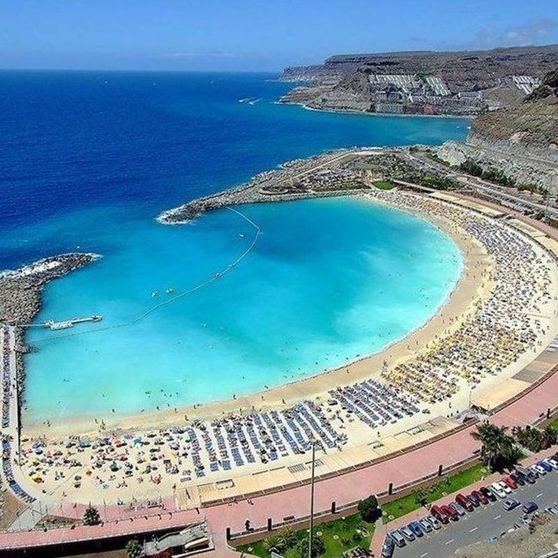 Destino - Destination: Puerto Rico / Playa de Amadores / Tauro: Precios - Servicios y Reservas de Reservas Taxis Las Palmas de Gran Canaria, Puertos y Aeropuerto. Bookings of Transfers by Gran Canaria