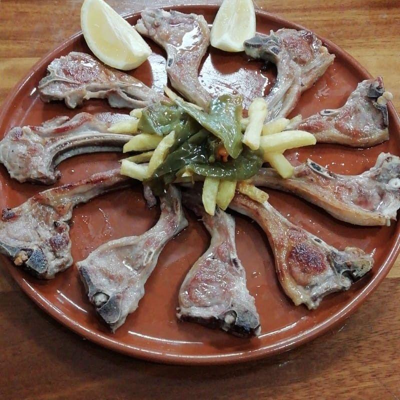 Nuestros menús: Bar Restaurante de Casa Cañitas