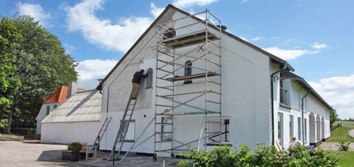 Rehabilitación de fachadas: Servicios de Construcciones y Reformas JR