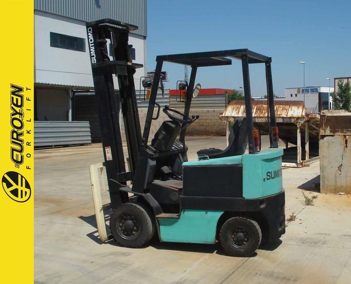 Carretilla eléctrica YALE SUMITOMO Nº 5860: Productos y servicios de Comercial Euroyen, S. L.