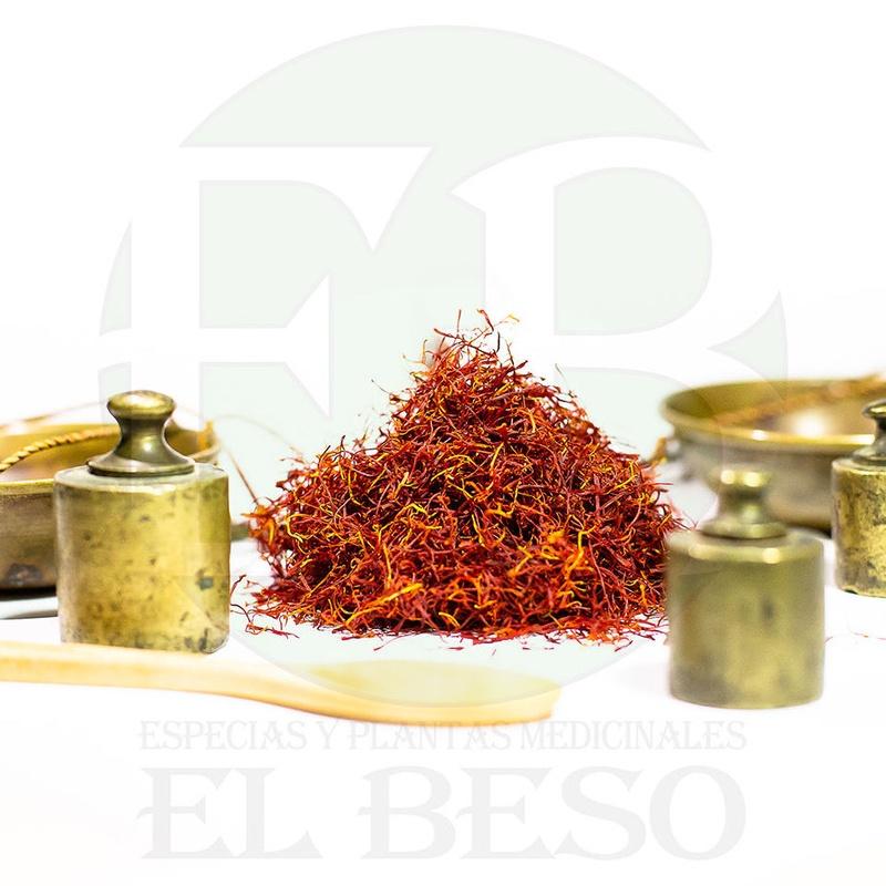 Azafrán: Productos de Especias y Plantas Medicinales El Beso