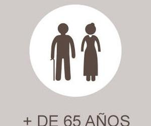 Más de 65 años