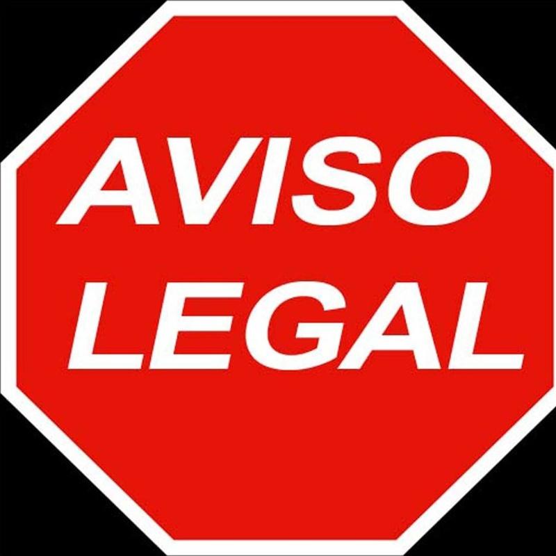 Aviso Legal: Servicios de Clínica Veterinaria Rocafort