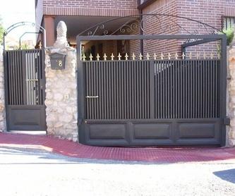 Puertas de aluminio soldado: Productos y Servicios de Luvematic