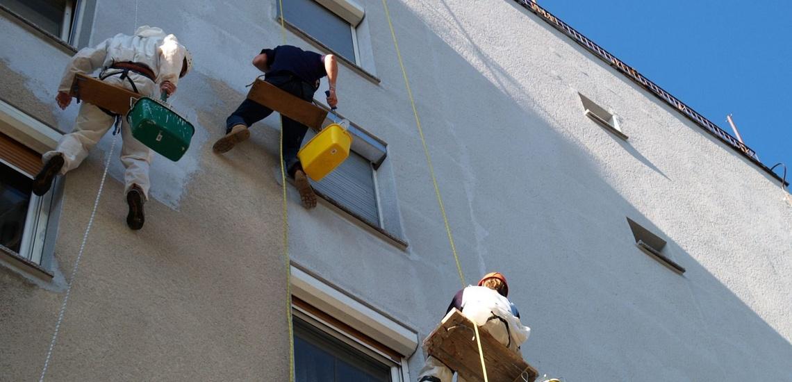 Trabajos verticales en Valladolild