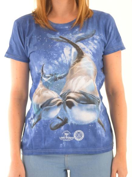 Camiseta Mujer Delfín con Cría / Dolphin With Baby Women´s T-Shirt: Productos de BELLA TRADICION