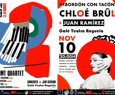 Flamenco y Jazz, el mejor cóctel para este fin de semana en Café Teatro Rayuela.